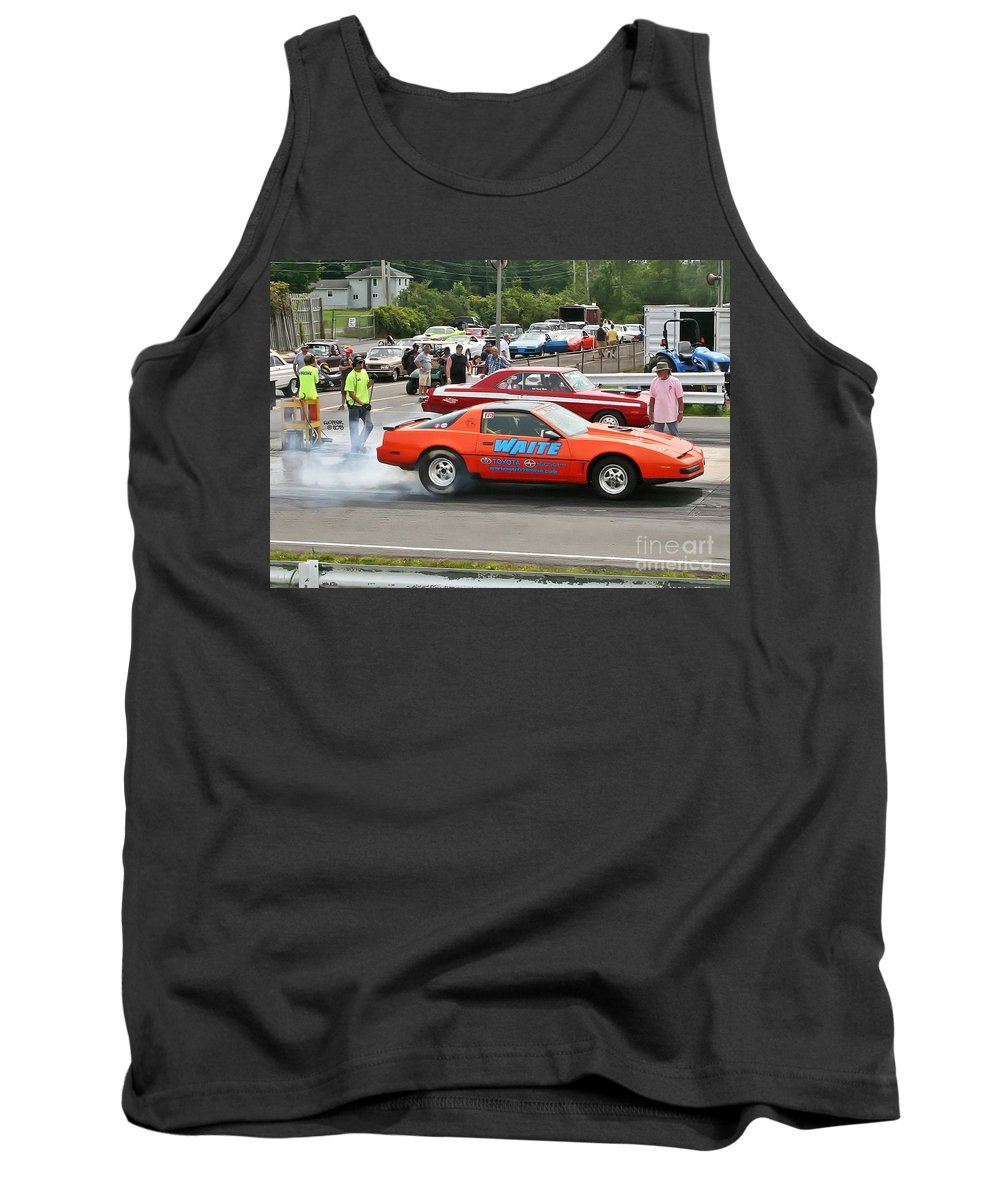 08-18-2013 Tank Top featuring the photograph 1942 08-18-2013 Esta Safety Park by Vicki Hopper