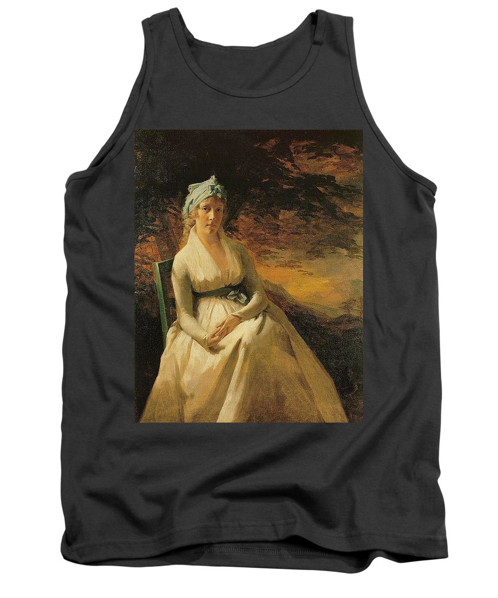 Dress Tank Top featuring the digital art 10202 Sir Henry Raeburn by Eloisa Mannion