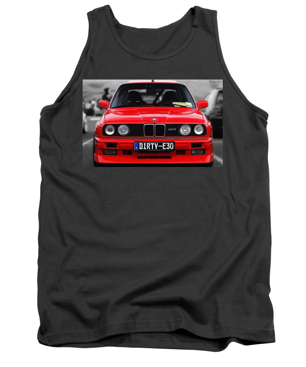Bmw M3 Tank Top featuring the photograph Bmw M3 by Jackie Russo
