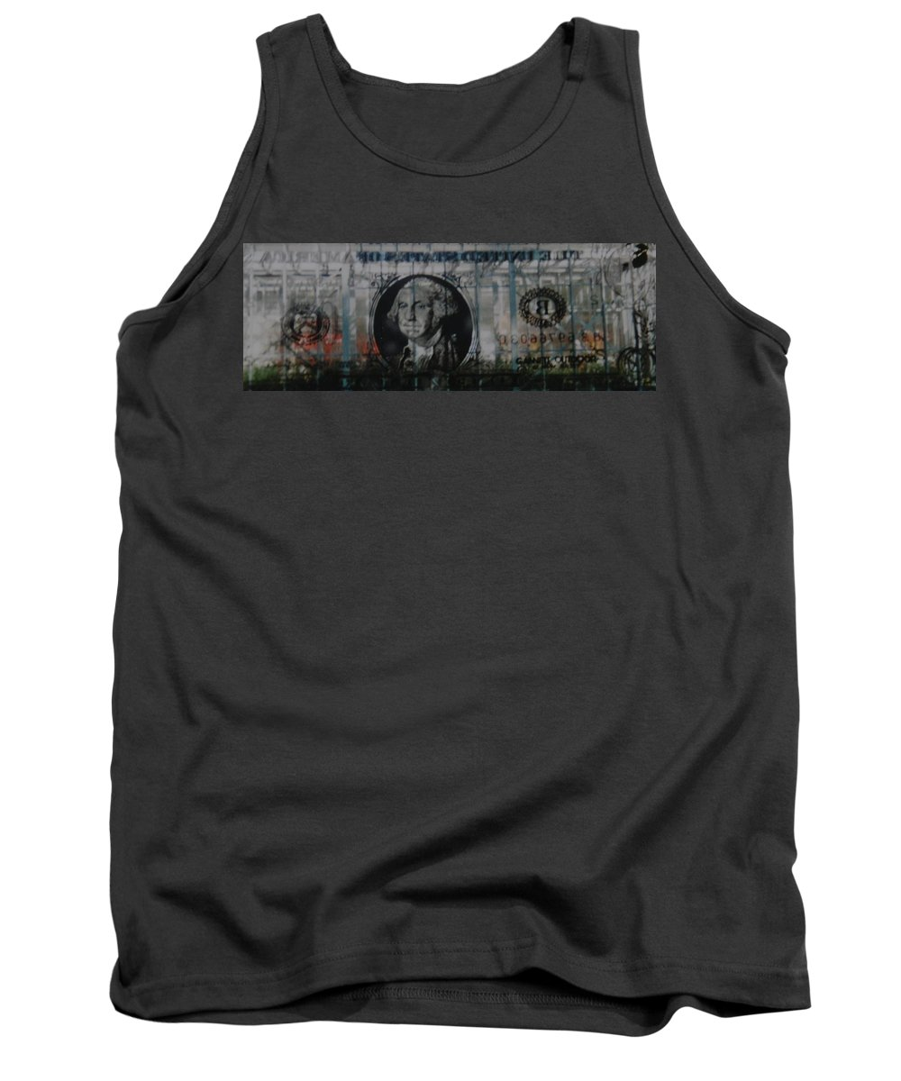 Park Tank Top featuring the photograph Dollar Bill by Rob Hans