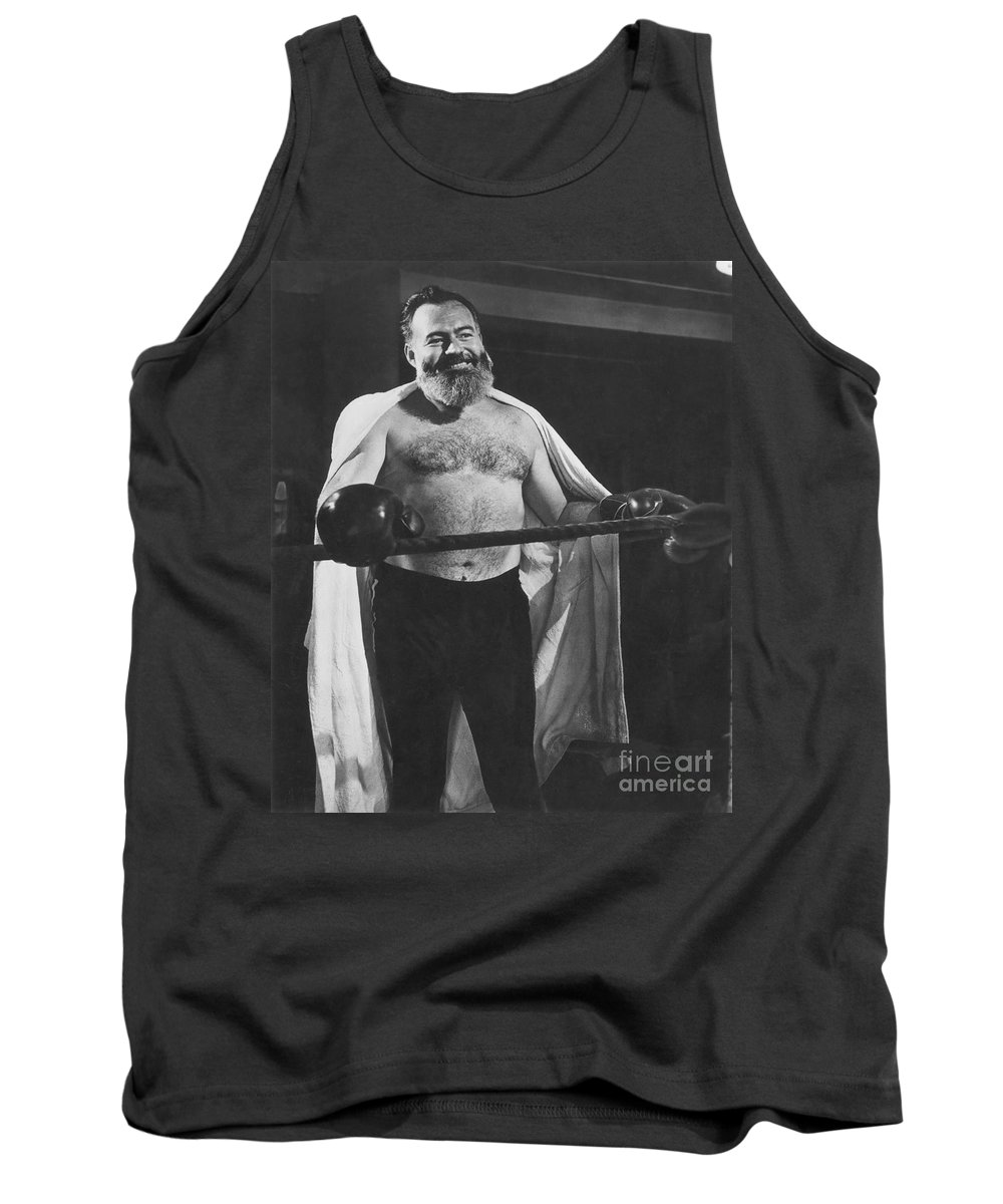 1944 Tank Top featuring the photograph Ernest Hemingway by Granger