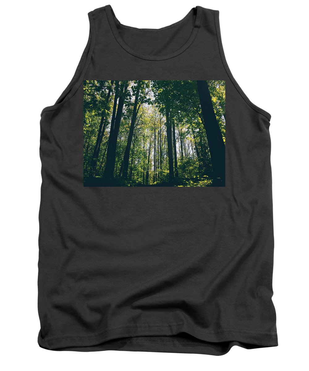 Landscape Tank Top featuring the photograph Forest by Alisa Suleymanova