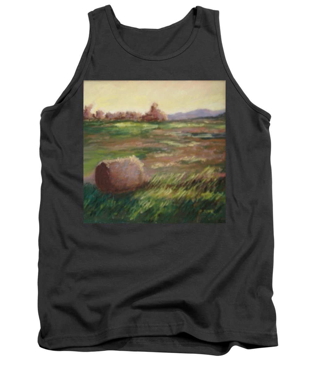 Tank Top featuring the pastel Hey There by Pat Snook
