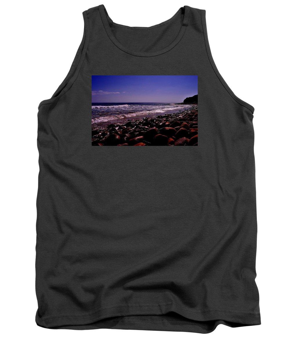 Tank Top featuring the photograph Malibu, Ca by Sherri Hasley