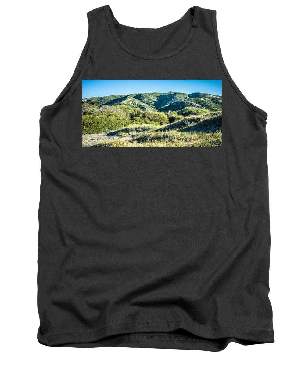 Forest Tank Top featuring the photograph Muir Woods Forest Drive By Nature Near San Francisco by Alex Grichenko
