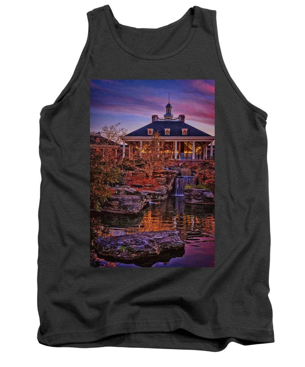 Opryland Tank Top featuring the photograph Opryland Hotel by Diana Powell