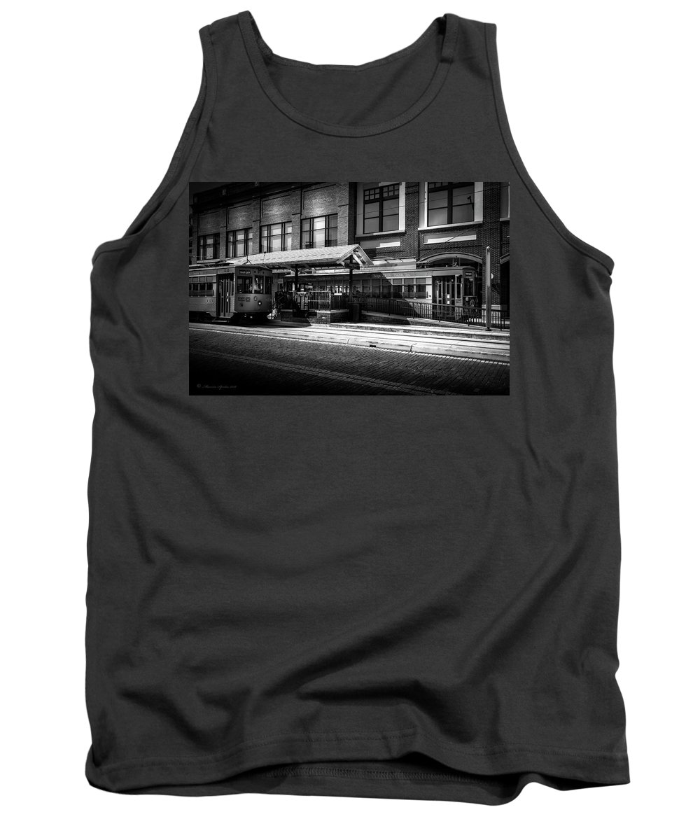 Ybor City Tank Top featuring the photograph 2016 Tampa Street Cars by Marvin Spates