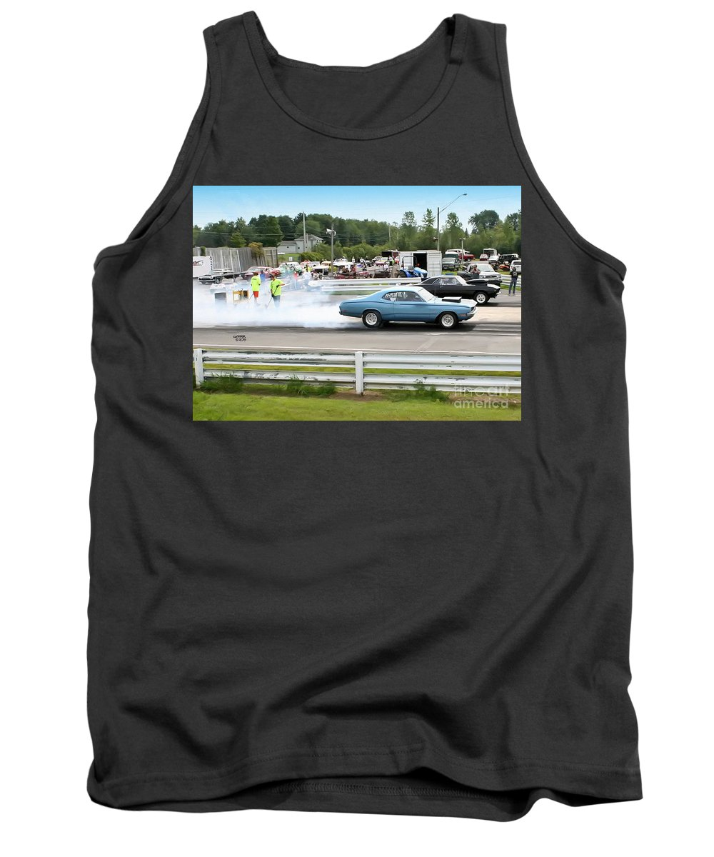 08-18-2013 Tank Top featuring the photograph 2025 08-18-2013 Esta Safety Park by Vicki Hopper