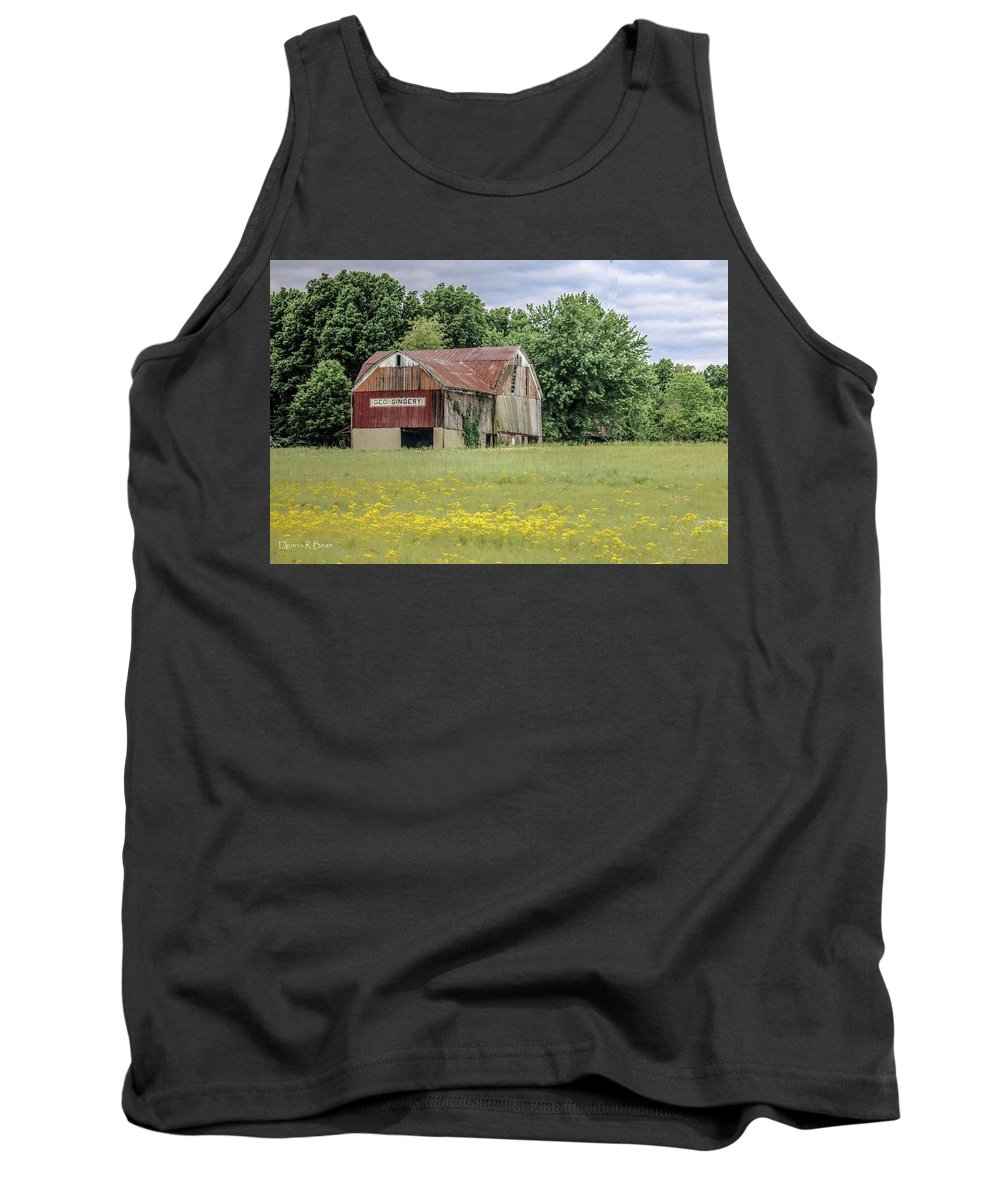 Farm Tank Top featuring the photograph 257 Wooster_fa by Dennis R Bean