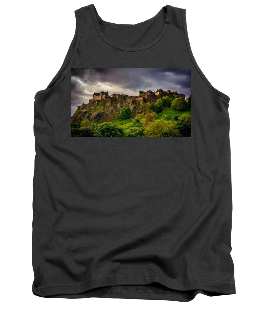 Large Tank Top featuring the digital art Landscape N More by Usa Map