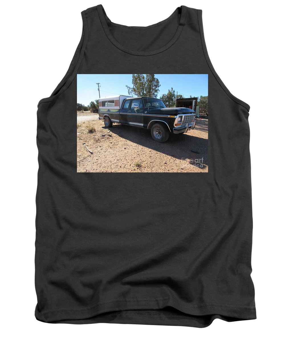 Ford Tank Top featuring the photograph Western Storefront by Frederick Holiday