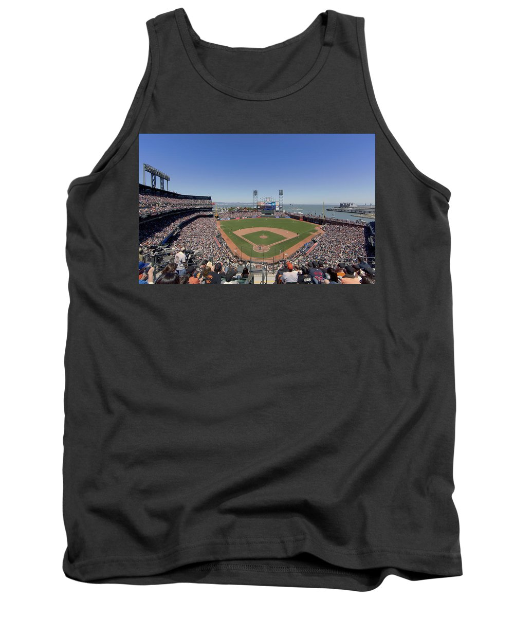 San Francisco Tank Top featuring the photograph Home Of The San Francisco Giants by Mountain Dreams