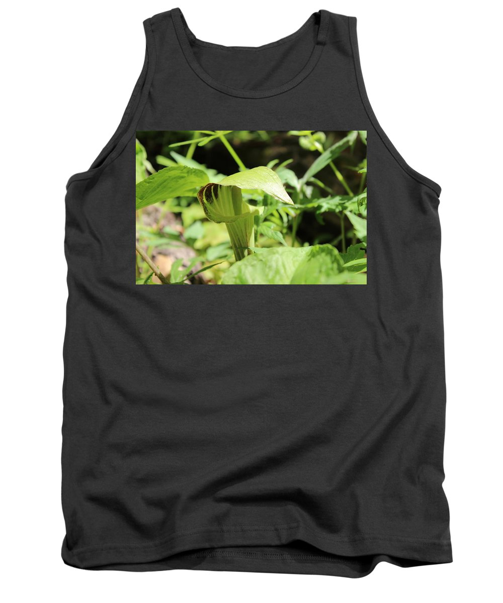 Flowers Tank Top featuring the photograph Jack-in-the-pulpit by Cliff Ball