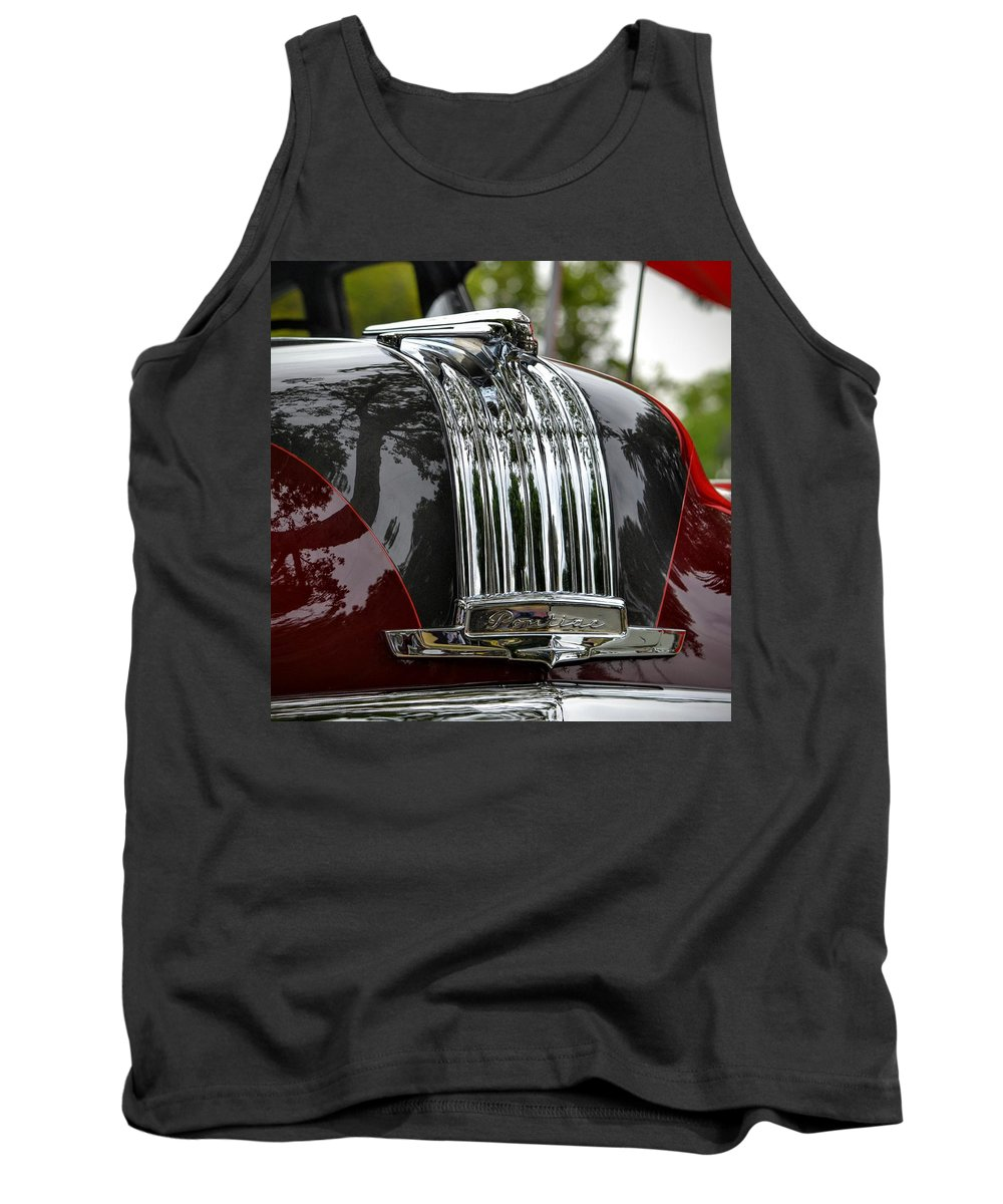 Chrome Tank Top featuring the photograph Pontiac Chief by Dean Ferreira