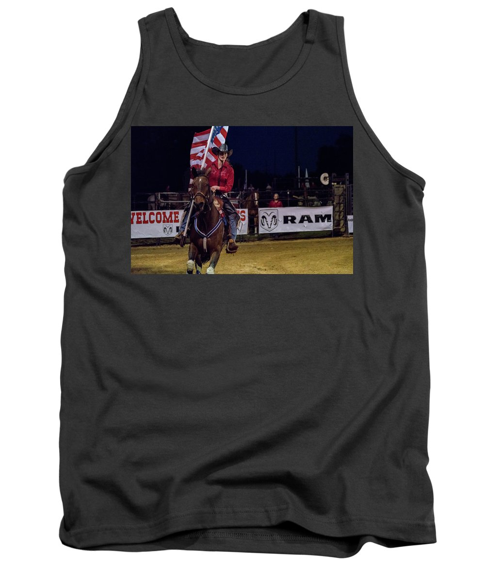 Rodeo Tank Top featuring the photograph The Colors by Glenn Matthews