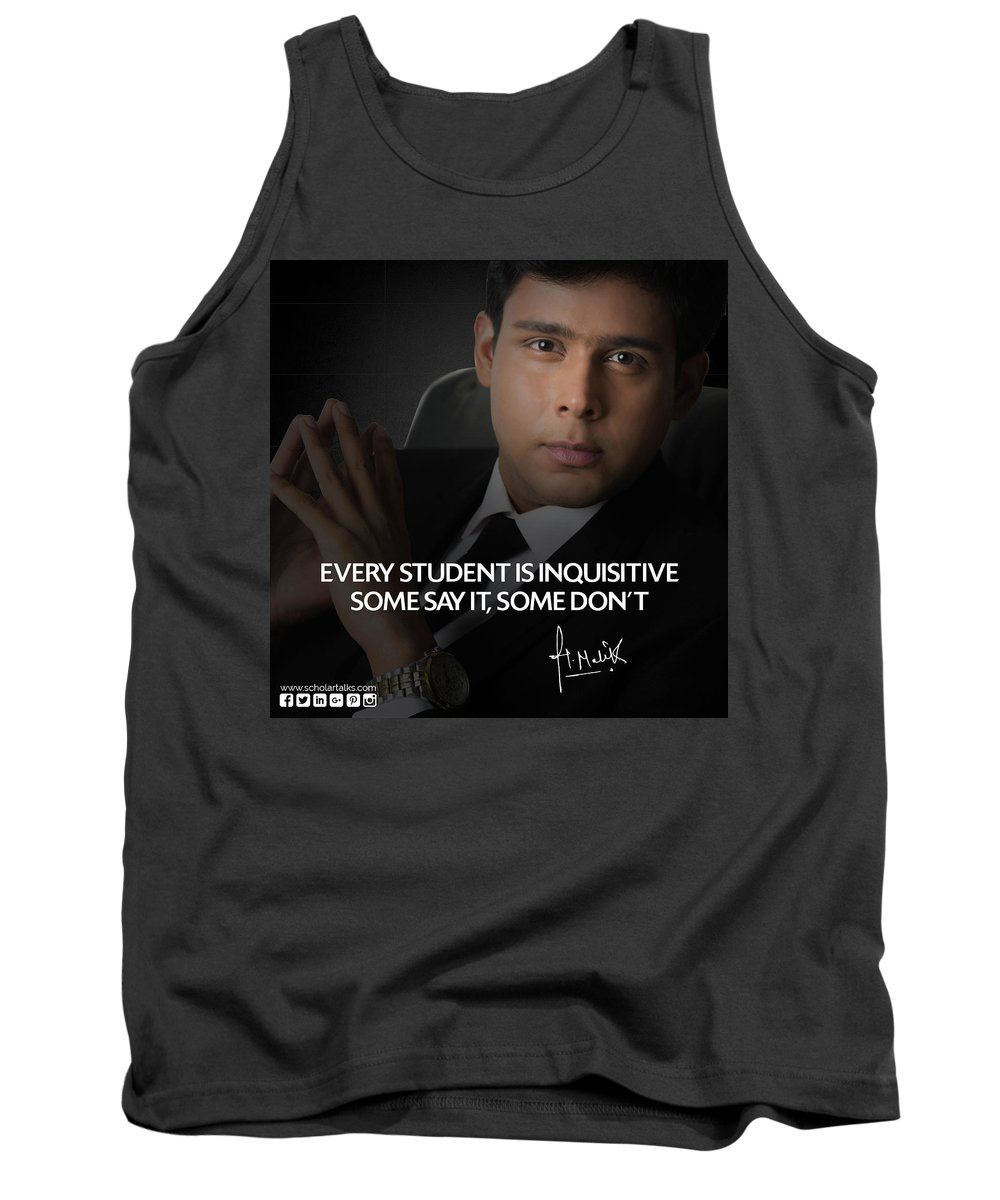 Harsh Malik Tank Top featuring the photograph Career Counseling by Scholar Talks