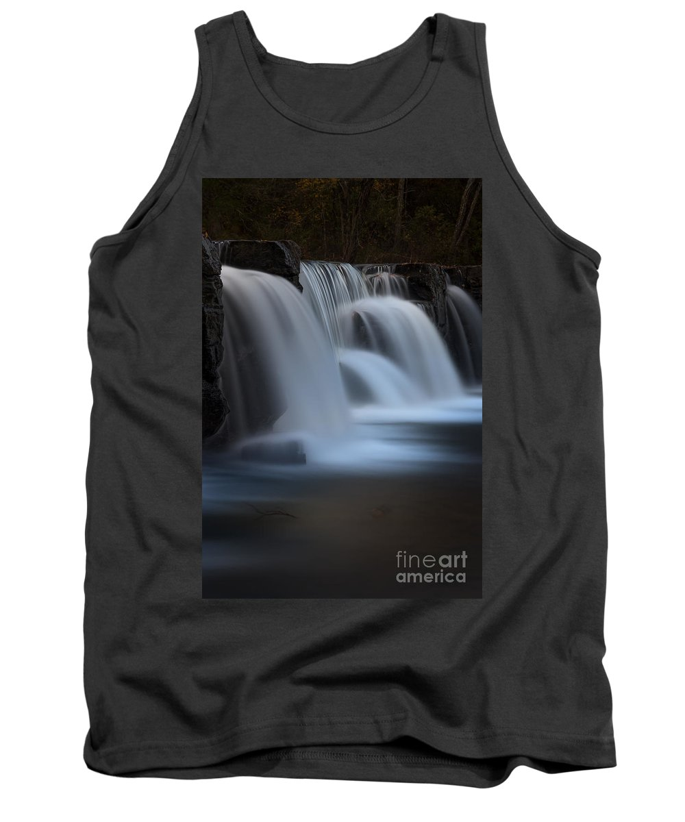 Dam Tank Top featuring the photograph Natural Dam by Larry McMahon