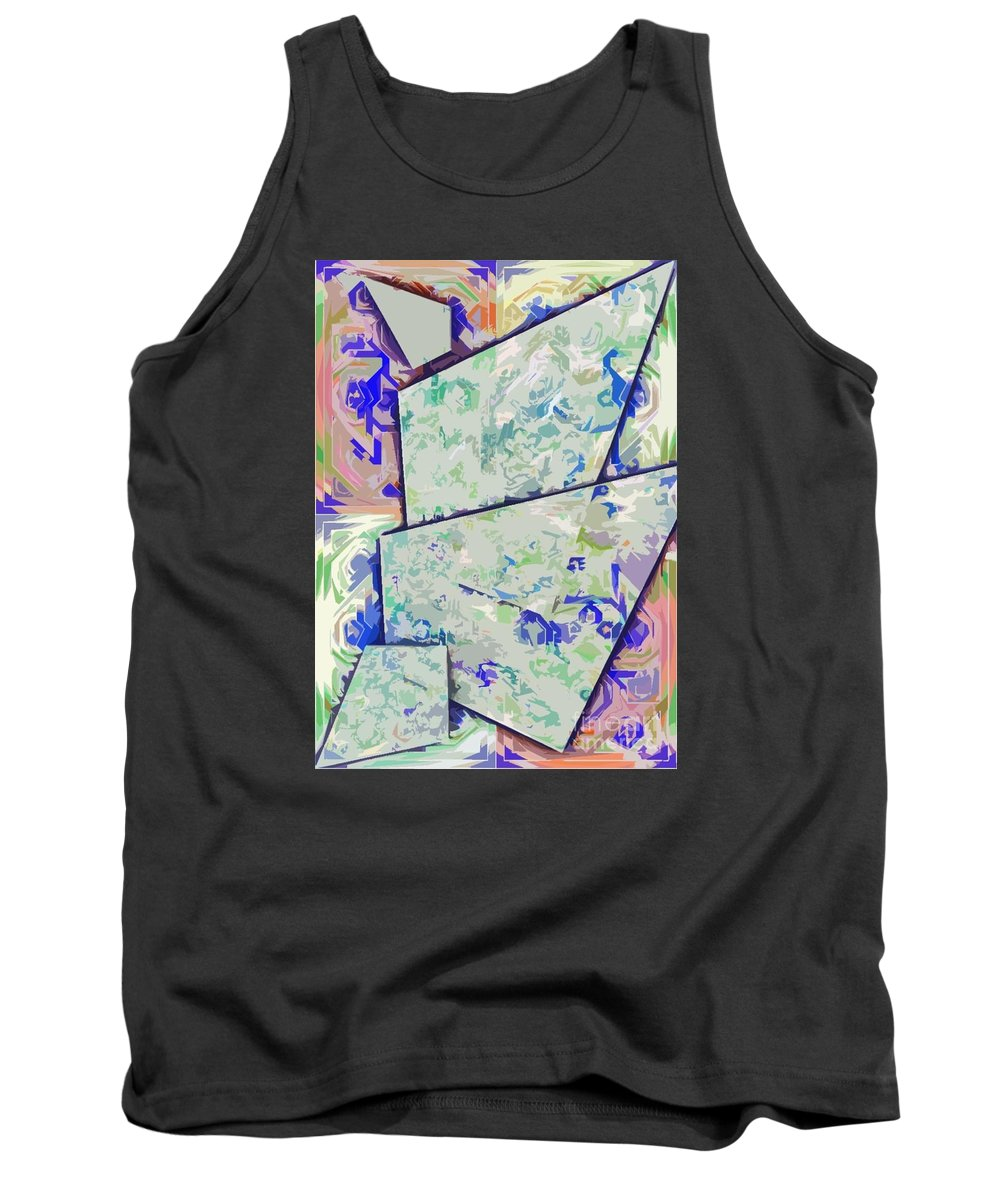 Project Tank Top featuring the digital art projekt kOSIARZ by WouX