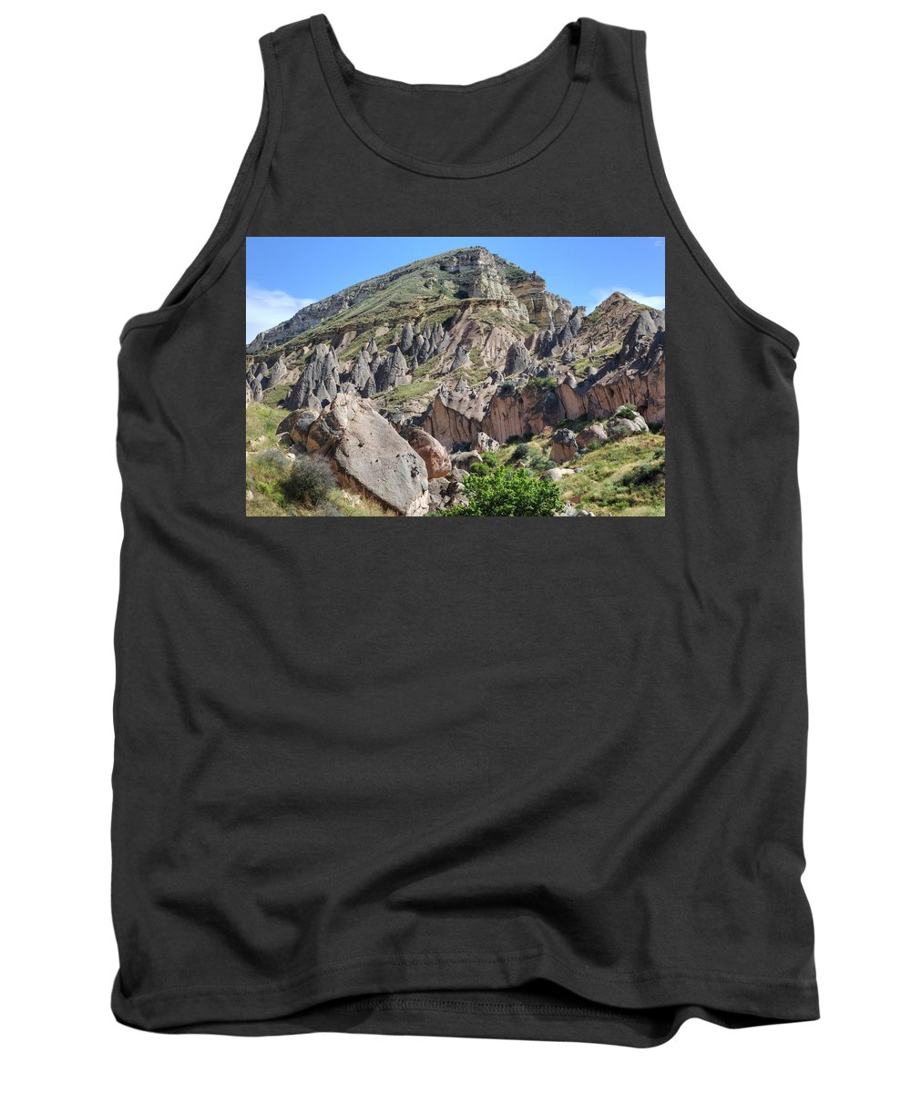 Zelve Tank Top featuring the photograph Cappadocia - Turkey by Joana Kruse