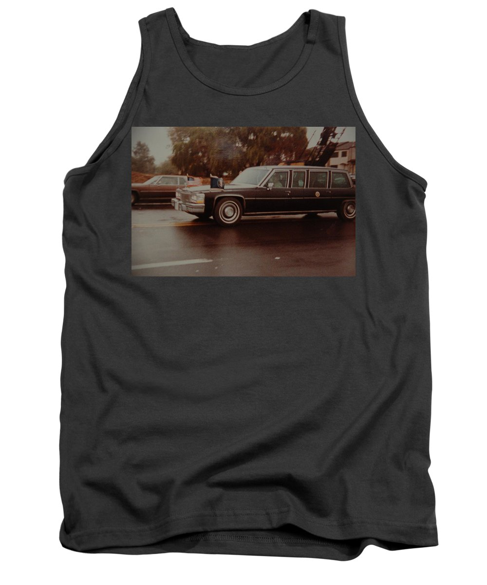 Potus Tank Top featuring the photograph 40th In Valley Stream New York by Rob Hans