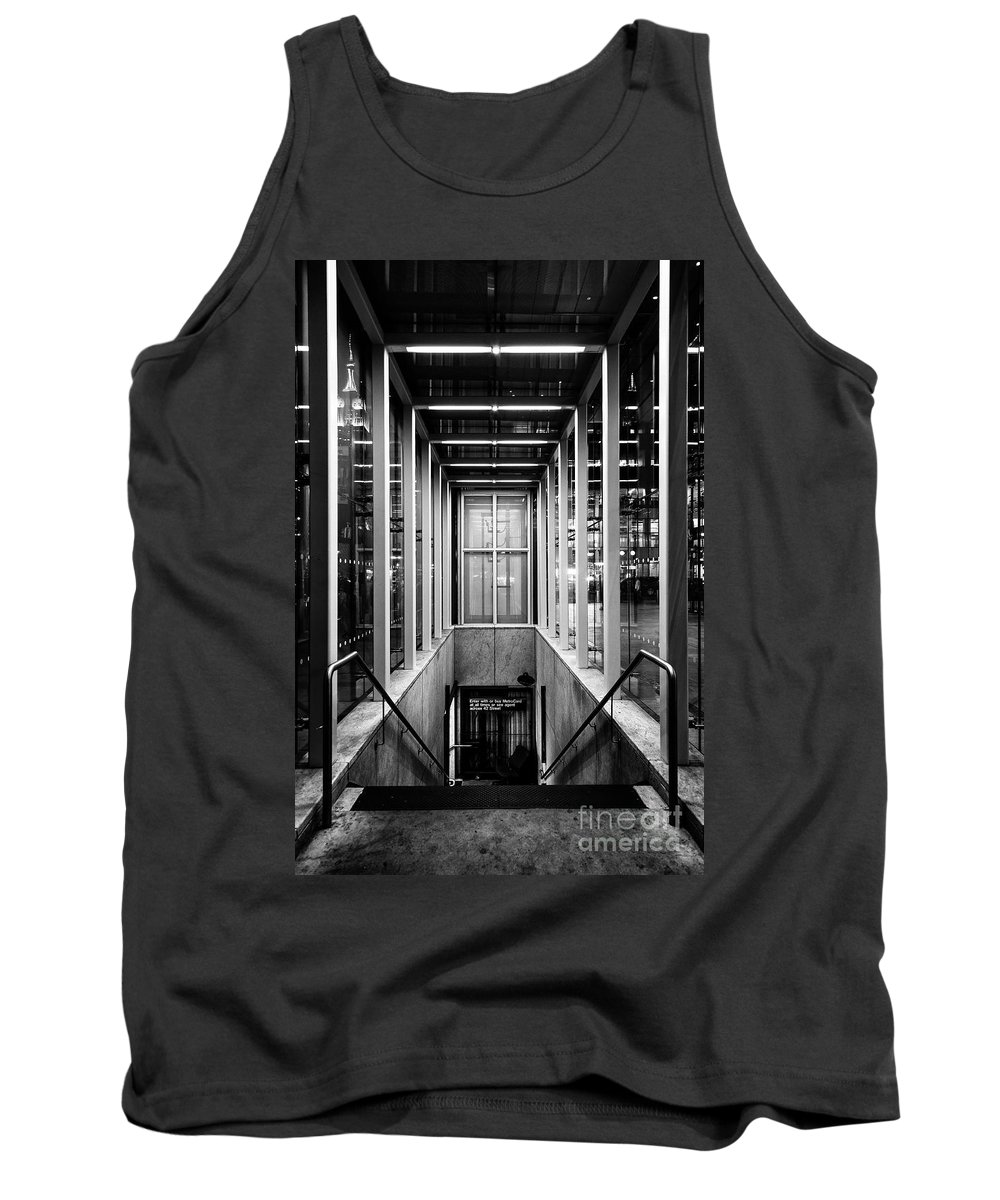 Symmetry Tank Top featuring the photograph 42nd Street Bryant Park Fifth Avenue by Edi Chen