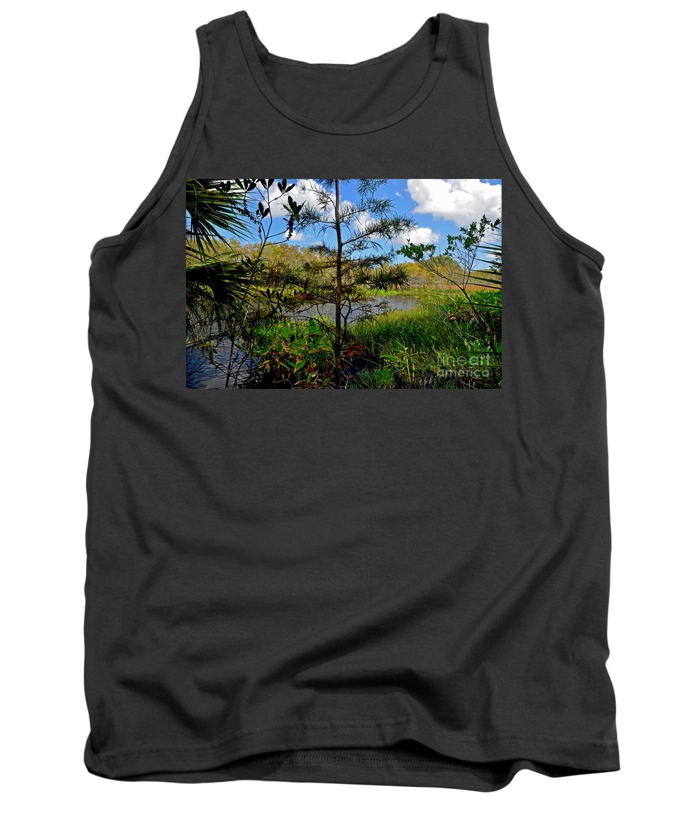 Florida Everglades Tank Top featuring the photograph 49- Florida Everglades by Joseph Keane