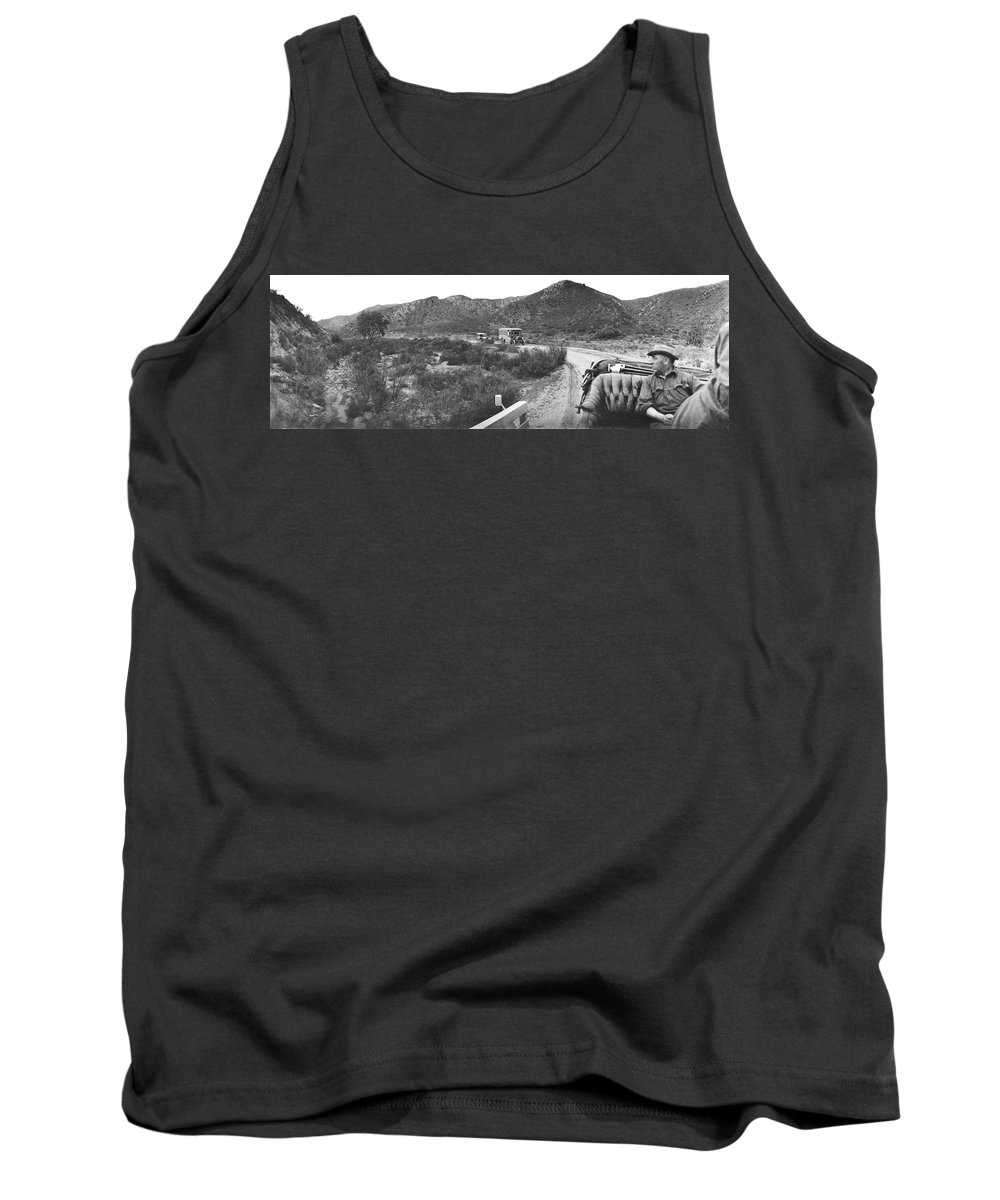 1 Person Tank Top featuring the photograph Goodyear Wingfoot Express by Underwood Archives