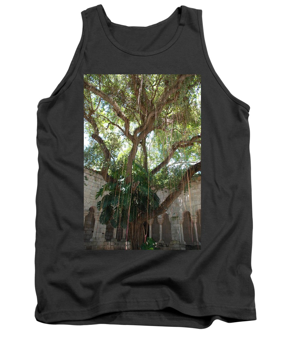 Architecture Tank Top featuring the photograph Miami Monastery by Rob Hans
