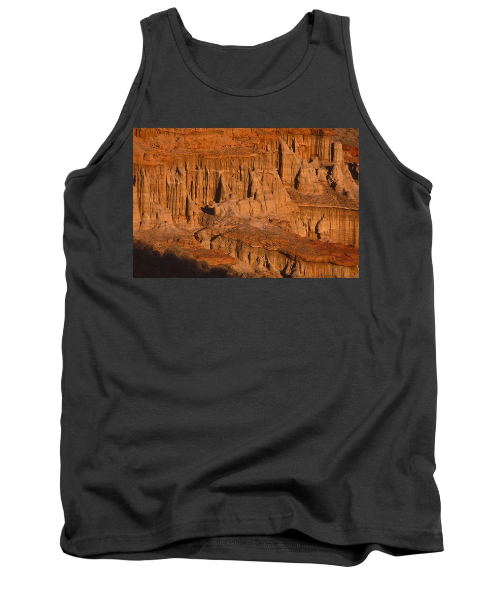 Red Cliffs Tank Top featuring the photograph Red Cliffs by Soli Deo Gloria Wilderness And Wildlife Photography