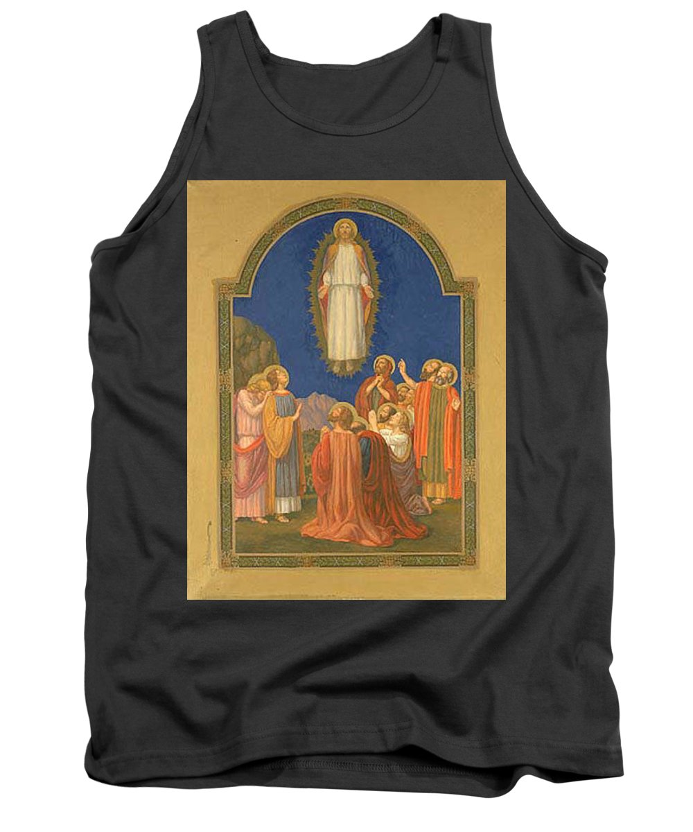 Vestment Tank Top featuring the digital art The Ascension Henry Siddons Mowbray by Eloisa Mannion