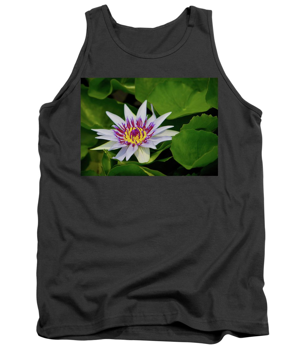 Water Lily Tank Top featuring the photograph Water Lily by Dennis Goodman