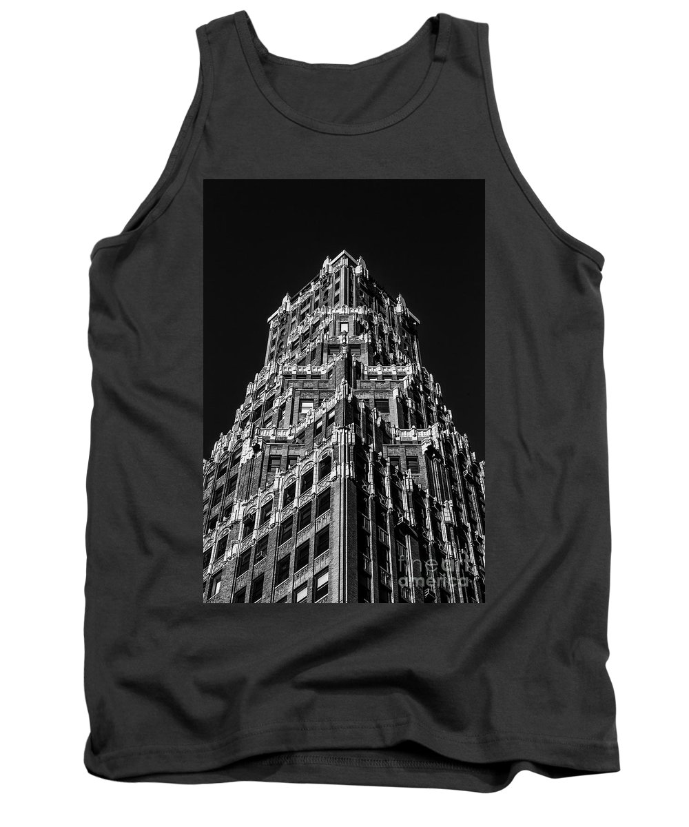 Symmetry Tank Top featuring the photograph 66 Court Street In Brooklyn Ny by Edi Chen