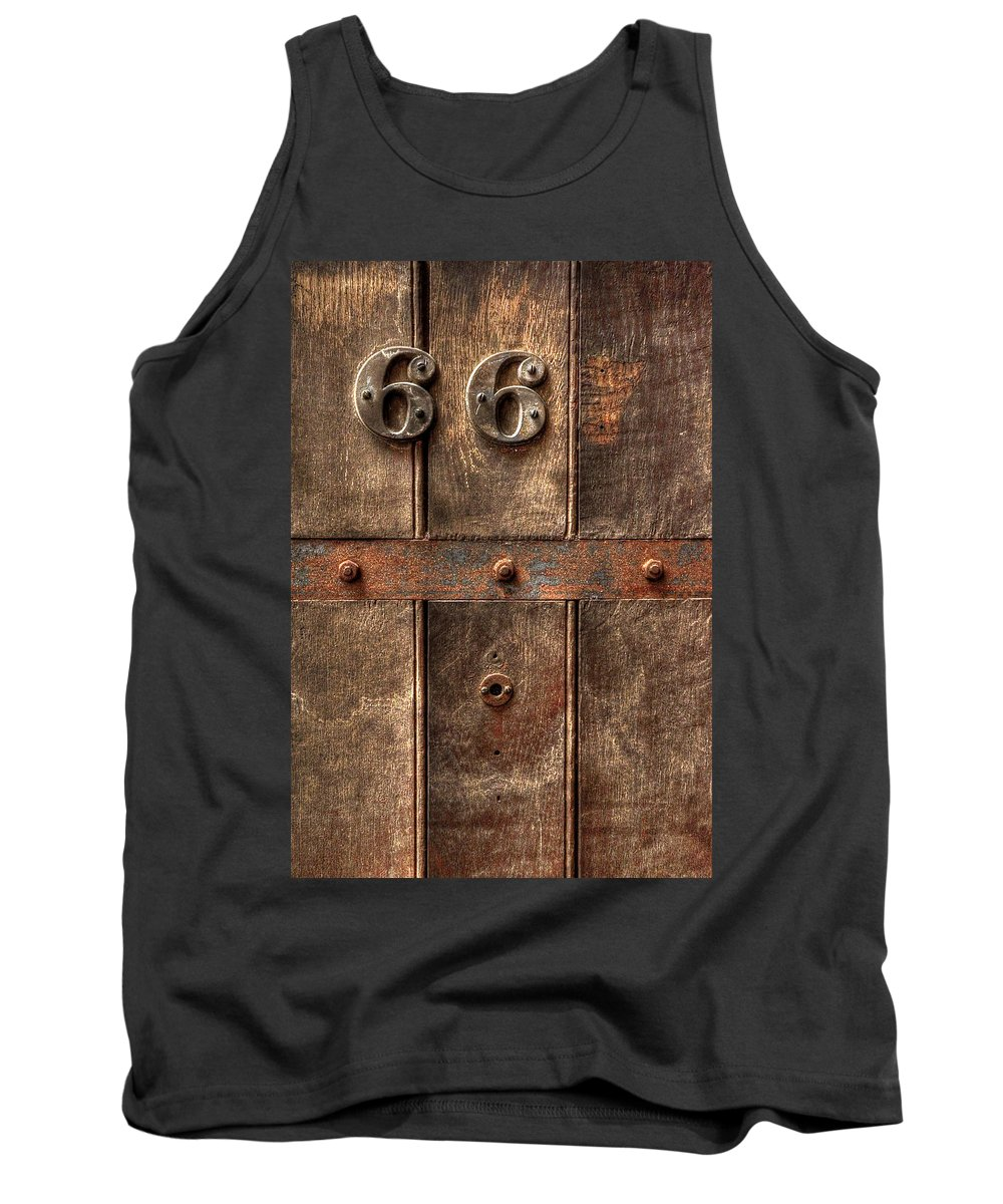 Abandoned Tank Top featuring the photograph 66... by Evelina Kremsdorf