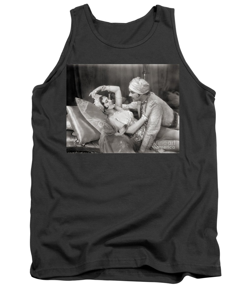 -couples- Tank Top featuring the photograph Silent Film Still: Couples by Granger