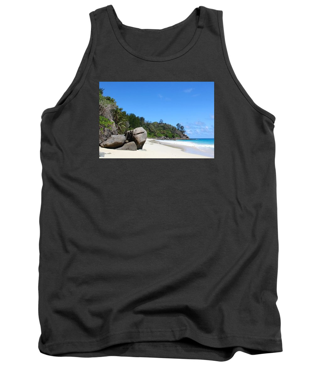 Beach Tank Top featuring the photograph Beach by FL collection