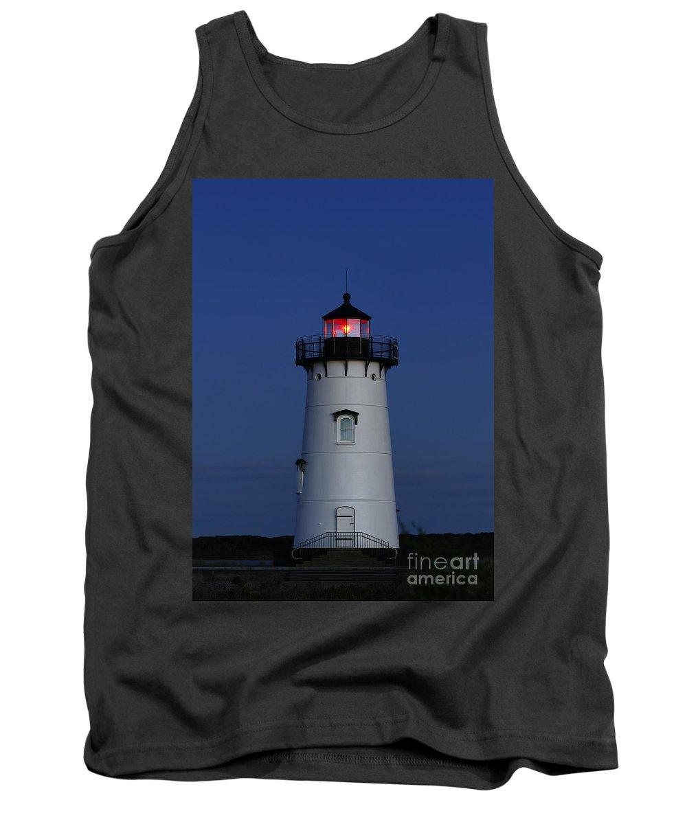 Edgartown Tank Top featuring the photograph Edgartown Lighthouse by John Greim
