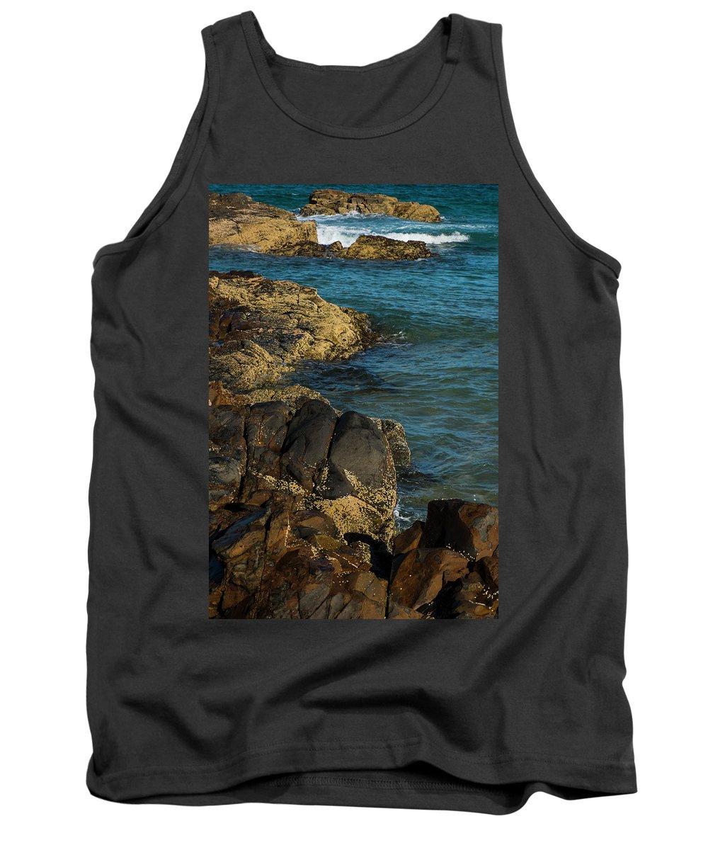 Sunshine-beach Tank Top featuring the photograph Sunshine Beach At Noosa, Sunshine Coast by Rob D