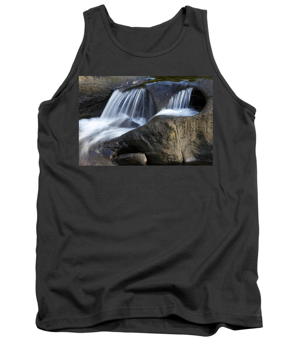 Beautiful Tank Top featuring the photograph Water Flowing by Les Cunliffe