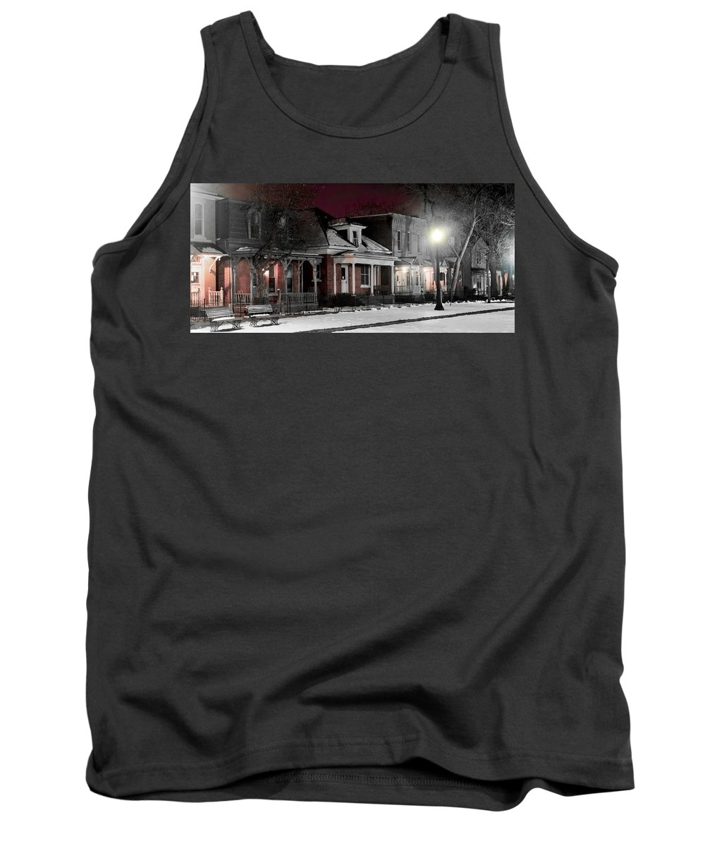 9th Tank Top featuring the photograph 9th St. Auraria by Jeffery Ball