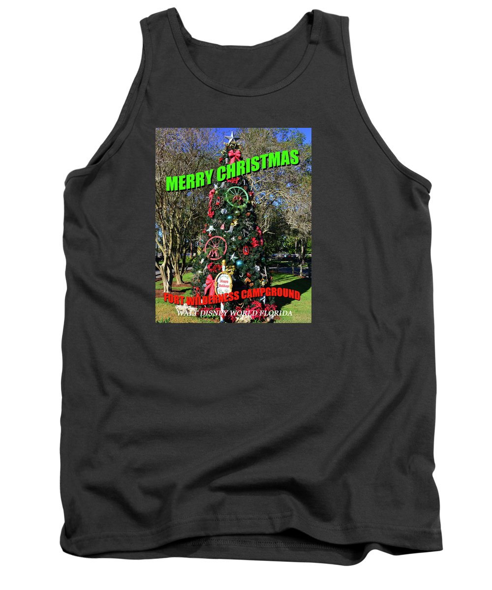 A Glorious Invasion Day Tank Top featuring the painting A Glorious Invasion Day by David Lee Thompson