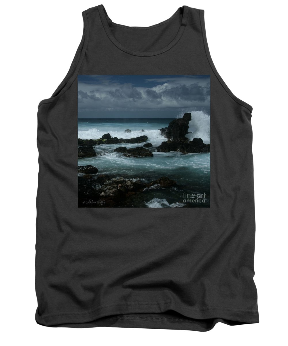 Aloha Tank Top featuring the photograph A Delicate Way by Sharon Mau