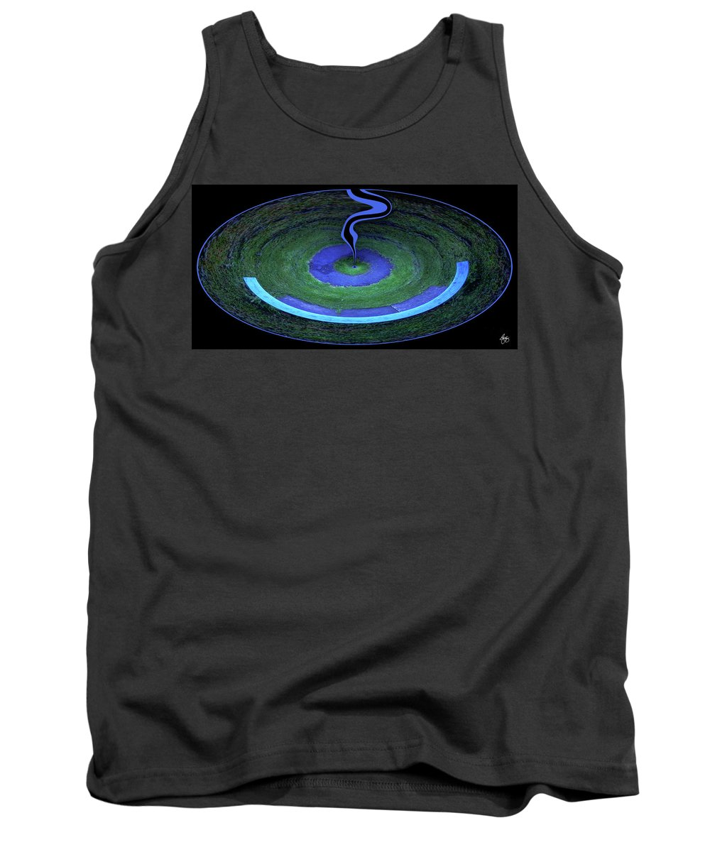Druid Tank Top featuring the photograph A Druids Vision by Wayne King