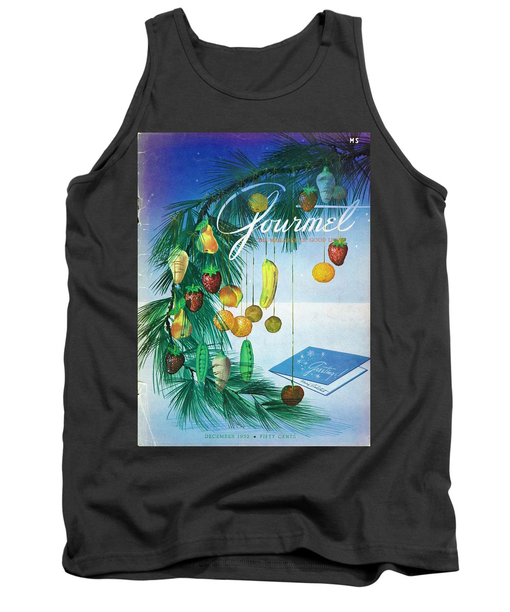 Food Tank Top featuring the photograph A Gourmet Cover Of Marzipan Fruit by Henry Stahlhut