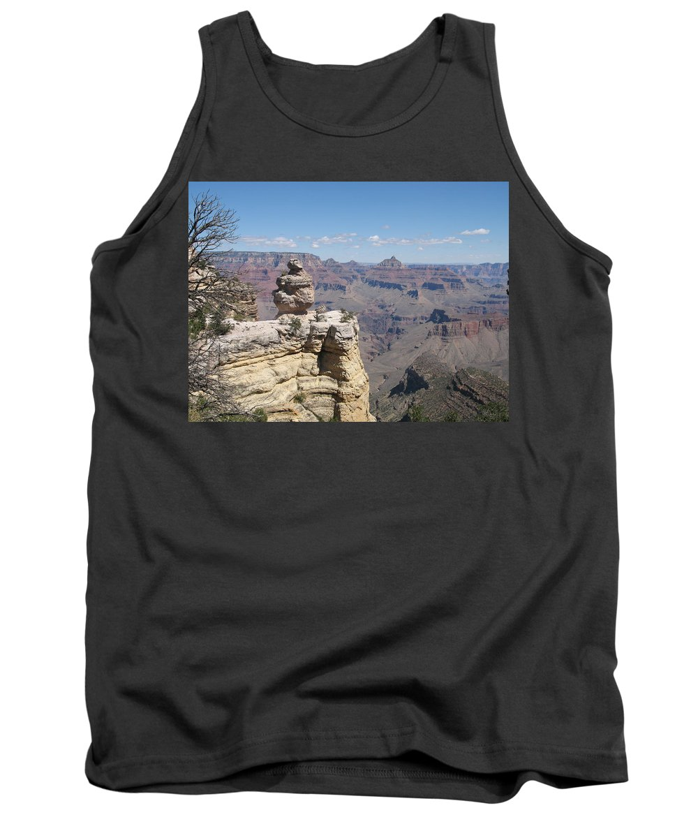 Canyon Tank Top featuring the photograph Grand Canyon Viewpoint by Christiane Schulze Art And Photography
