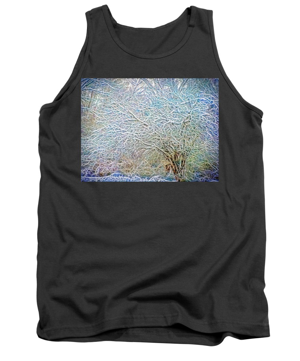 Nature Tank Top featuring the photograph A Late Winter Xv by Tina Baxter