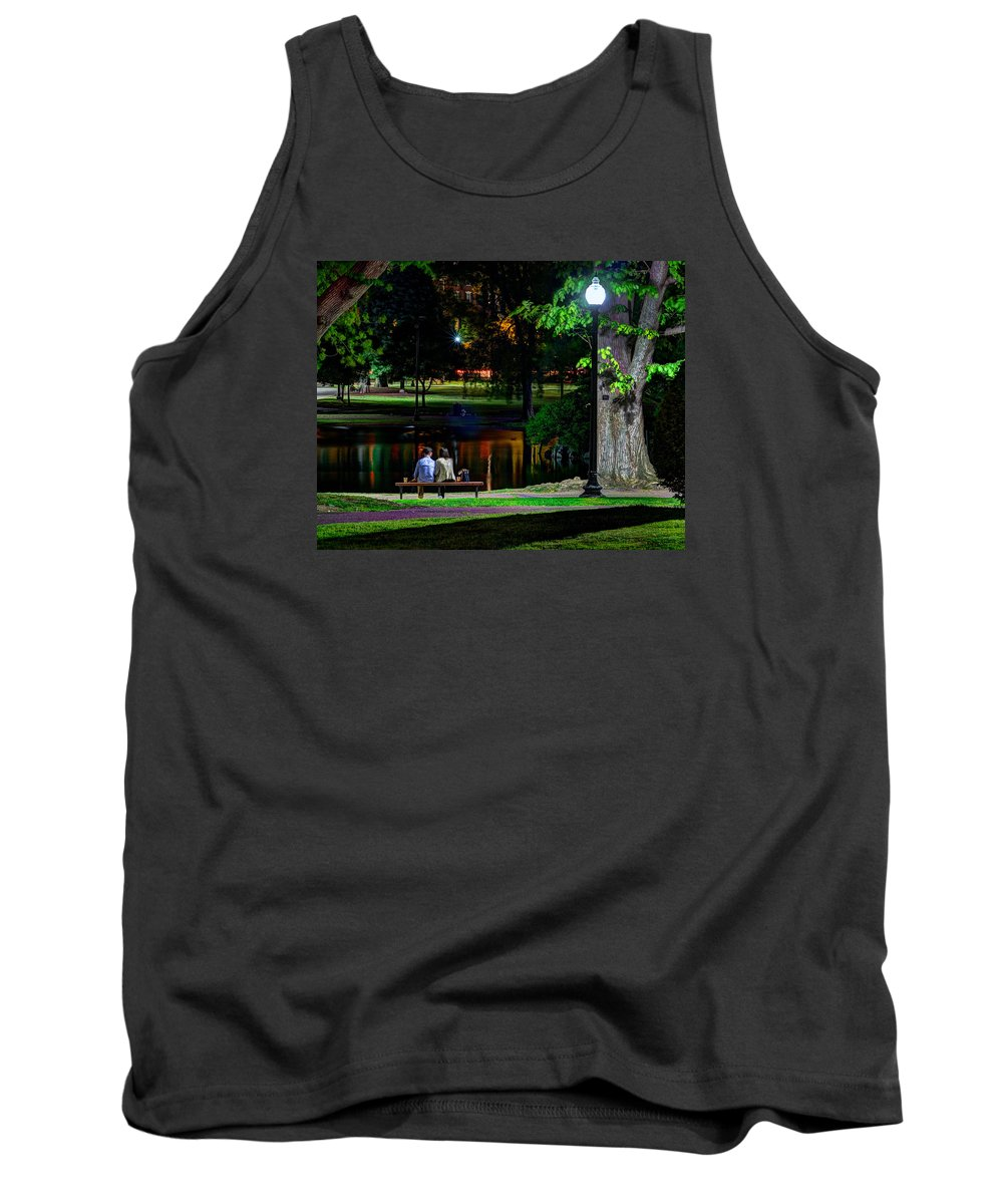 Boston Tank Top featuring the photograph A Midsummer Nights Dream by Jeff Stallard