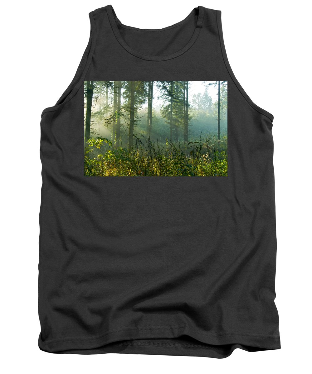 Nature Tank Top featuring the photograph A New Day Has Come by Daniel Csoka