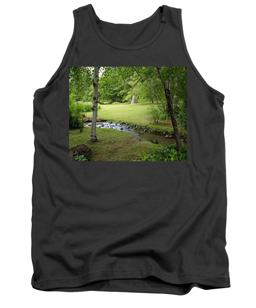 Nature Tank Top featuring the photograph A Place To Dream Awhile by Ben Upham III