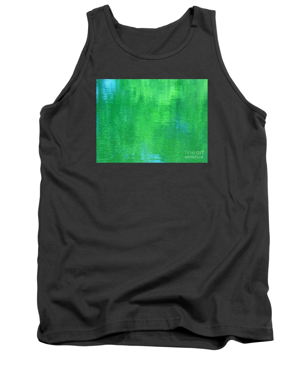 Water Tank Top featuring the photograph A Rendering Of Faith by Sybil Staples