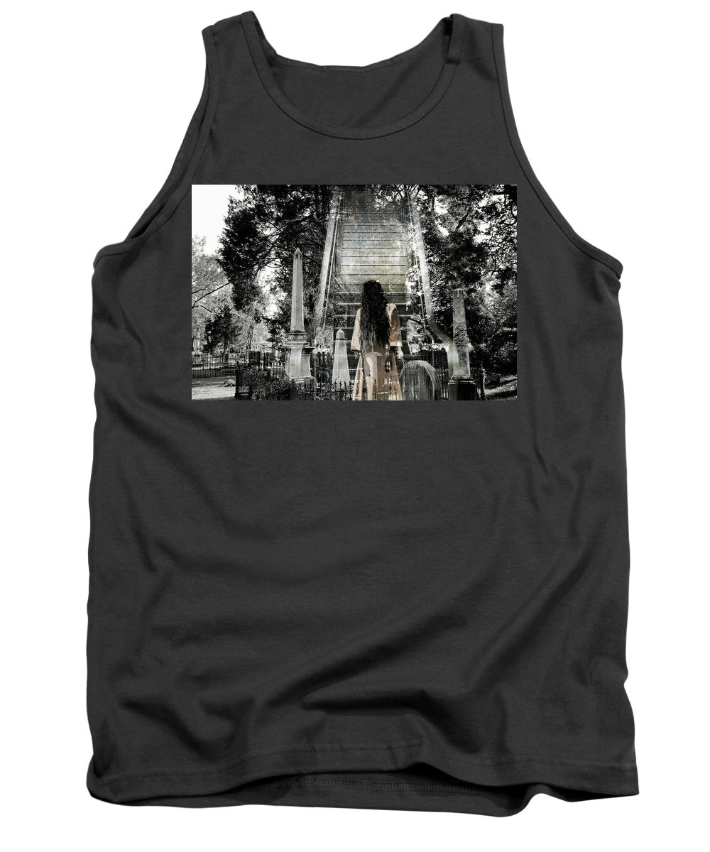 Stairway To Heaven Tank Top featuring the photograph A Stairway To Heaven by James DeFazio